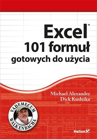 Excel. 101 formuł gotowych do użycia - okładka książki