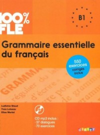 Grammaire essentielle du français - okładka podręcznika