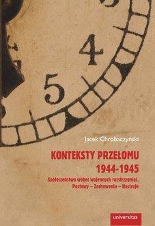 Konteksty przełomu 1944-1945. Społeczeństwo - okładka książki