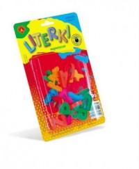 Literki magnetyczne - zdjęcie zabawki, gry