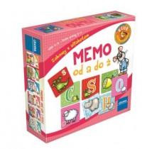 Memo. Od A do Ż - Wydawnictwo - zdjęcie zabawki, gry
