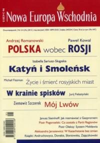 Nowa Europa Wschodnia 3-4/2015 - okładka książki