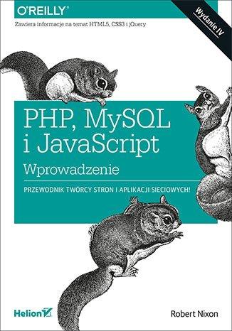 PHP MySQL i JavaScript. Wprowadzenie - okładka książki