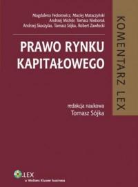 Prawo rynku kapitałowego. Komentarz - okładka książki
