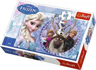 Przyjaciele z Krainy Lodu (puzzle - zdjęcie zabawki, gry