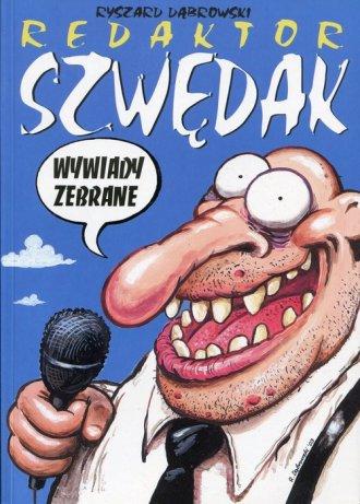 Redaktor Szwędak. Wywiady zebrane - okładka książki