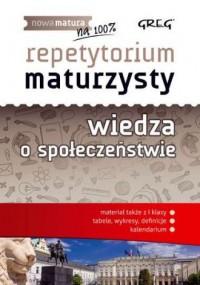 Repetytorium maturzysty. Wiedza o społeczeństwie - okładka podręcznika