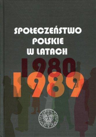 Społeczeństwo polskie w latach - okładka książki