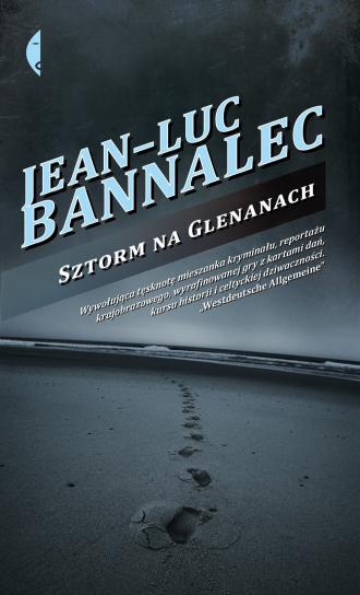 Sztorm na Glenanach - okładka książki