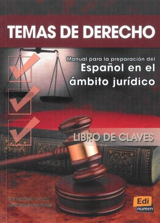 Temas de Derecho. Klucz - okładka podręcznika