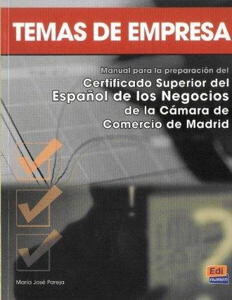 Temas de Empresa - okładka podręcznika