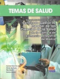 Temas de Salud - okładka podręcznika