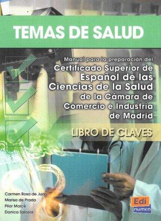 Temas de Salud. Klucz - okładka podręcznika
