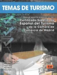 Temas de Turismo - okładka podręcznika