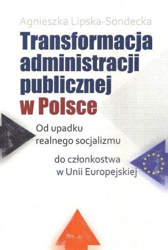 Transformacja administracji publicznej - okładka książki