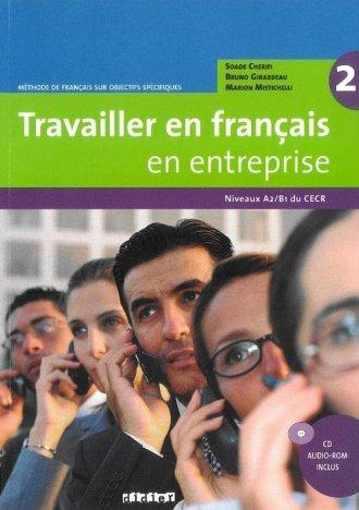 Travailler en français en entreprise - okładka podręcznika