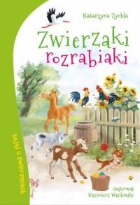 Zwierzaki rozrabiaki - okładka książki