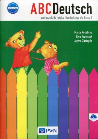 ABCDeutsch 2. Podręcznik (+ 2CD) - okładka podręcznika