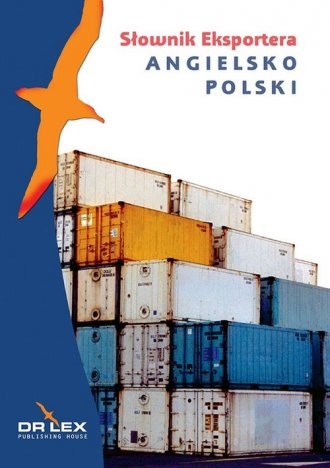 Angielsko-polski słownik eksportera - okładka podręcznika