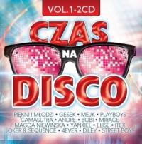 Czas na disco vol.1 (2 CD) - okładka płyty