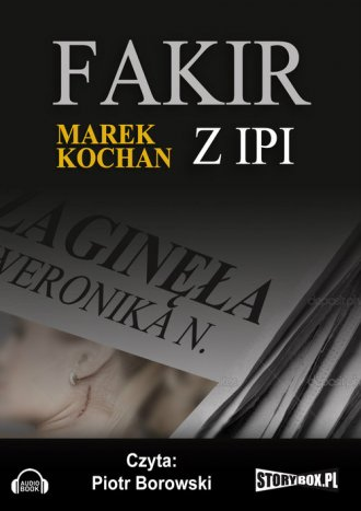 Fakir z Ipi - pudełko audiobooku