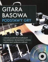 Gitara basowa. Podstawy (+ CD) - okładka podręcznika