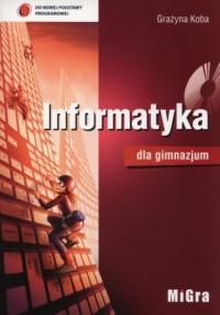 Informatyka dla gimnazjum (+ CD) - okładka podręcznika
