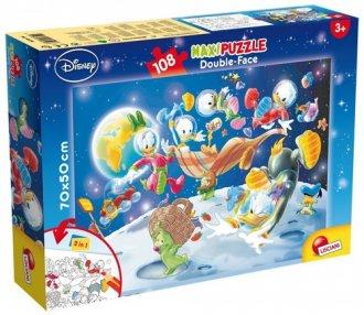 Pinokio Puzzle dwustronne Maxi 108 element/ów
