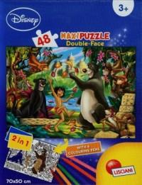 Księga Dżungli (puzzle maxi 48-elem.) - zdjęcie zabawki, gry
