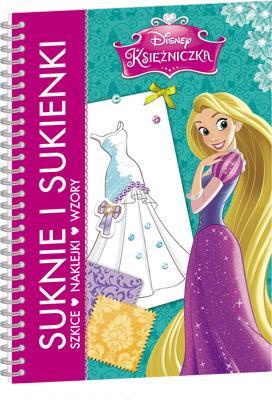 Księżniczka. Suknie i sukienki - okładka książki