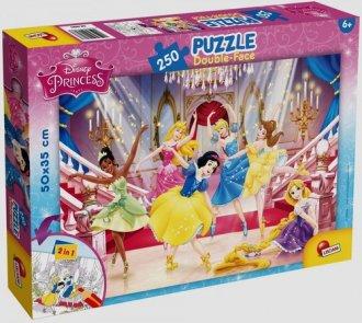 Księżniczki (puzzle dwustronne - zdjęcie zabawki, gry