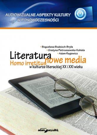 Literatura - nowe media. Homo irretitus - okładka książki
