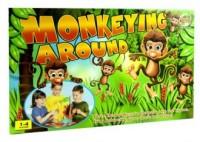 Małpie figle. Gra zręcznościowa - zdjęcie zabawki, gry