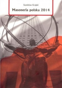 Masoneria polska 2014 - okładka książki