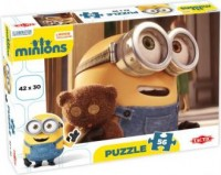 Minions (puzzle 56-elem.) - zdjęcie zabawki, gry