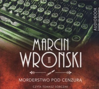 Morderstwo pod cenzurą - pudełko audiobooku