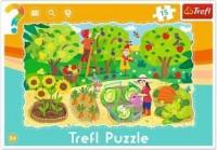 Ogród (puzzle ramkowe 15-elem.) - zdjęcie zabawki, gry