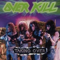 Overkill. Taking Over - okładka płyty