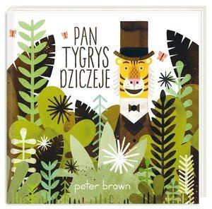 Pan Tygrys dziczeje - okładka książki