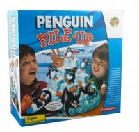 Pingwiny na lodzie. Gra planszowa - zdjęcie zabawki, gry