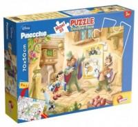 Pinokio (puzzle maxi dwustronne 35-elem.) - zdjęcie zabawki, gry