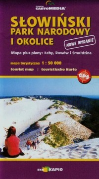 Słowiński Park Narodowy i okolice mapa turystyczna (skala 1:50 000) - okładka książki