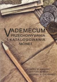 Vademecum przechowywania i katalogowania monet - okładka książki