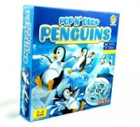 Wyścigi pingwinów. Gra planszowa - zdjęcie zabawki, gry