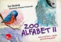 Zooalfabet II - okładka książki