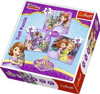 Zosia i jej przyjaciele (puzzle - zdjęcie zabawki, gry
