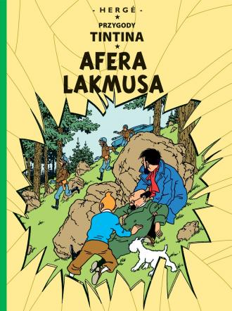 Afera Lakmusa. Tom 18 - okładka książki