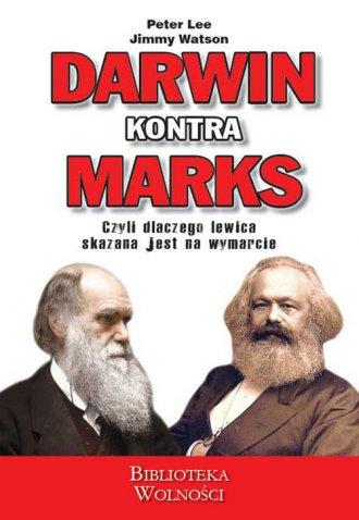 Darwin kontra Marks - okładka książki