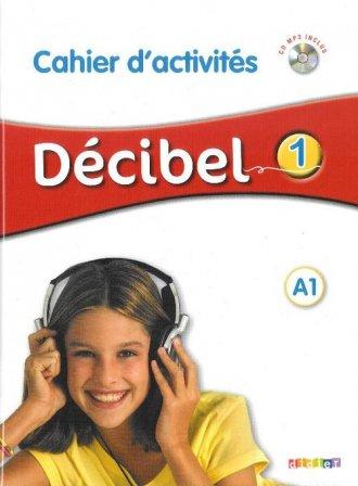 Decibel 1. Ćwiczenia (+CD mp3) - okładka podręcznika