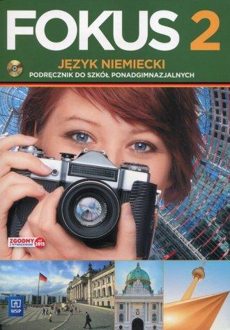 Fokus 2. Język niemiecki. Szkoła - okładka podręcznika